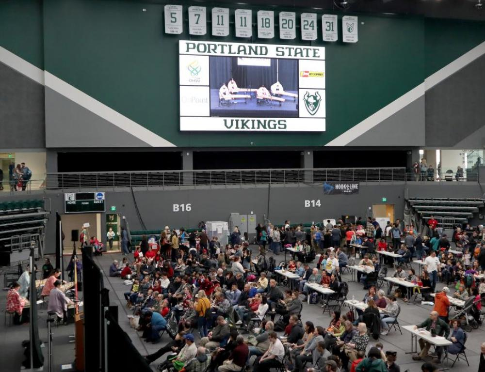 Viking Pavilion Arena is great for conferences and trade shows.