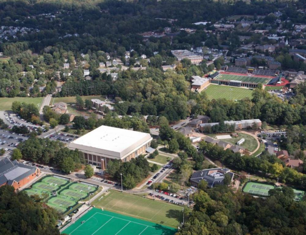 Busch Turf & Field, Kaplan Arena, Rec Center, Millie West & Rec Tennis Courts