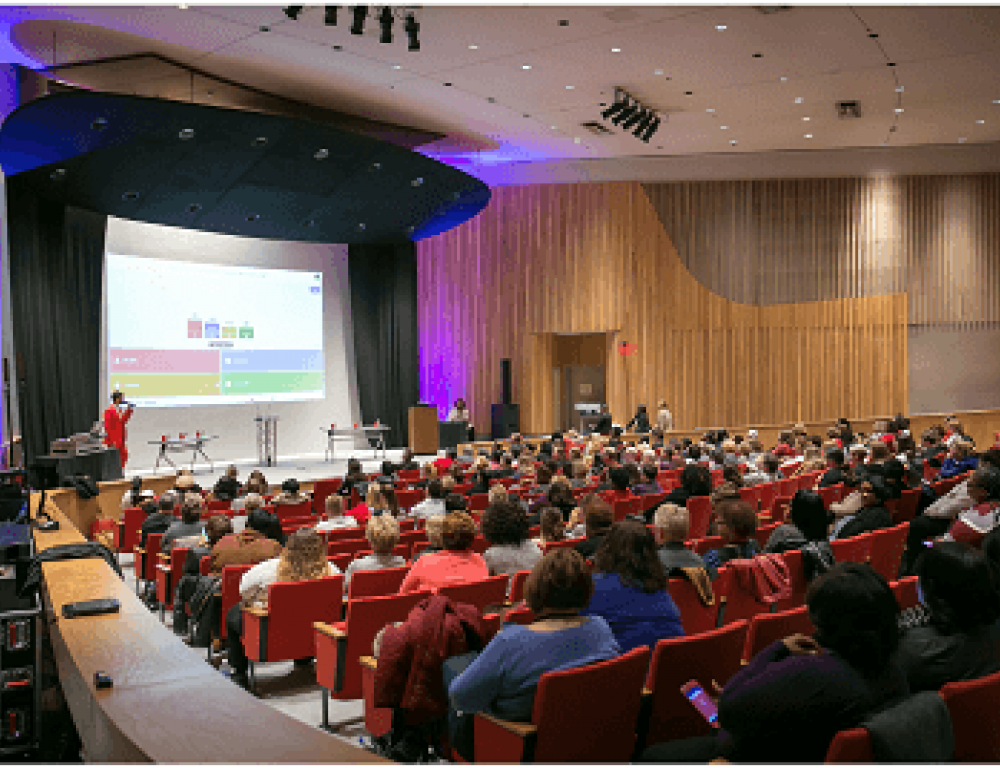 Our spacious Auditorium can hold up to 400 people.