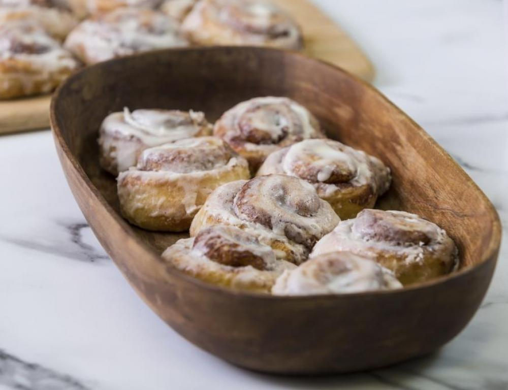 Taste for yourself why people rave about our cinnamon rolls!