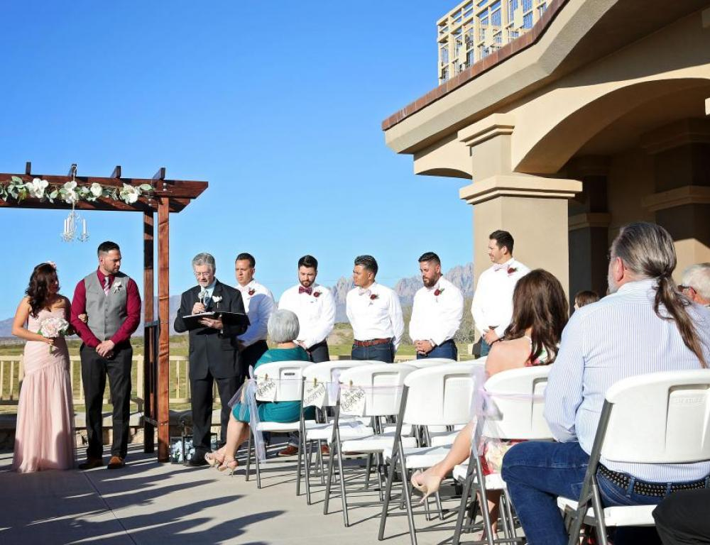 NMSU golf Course wedding