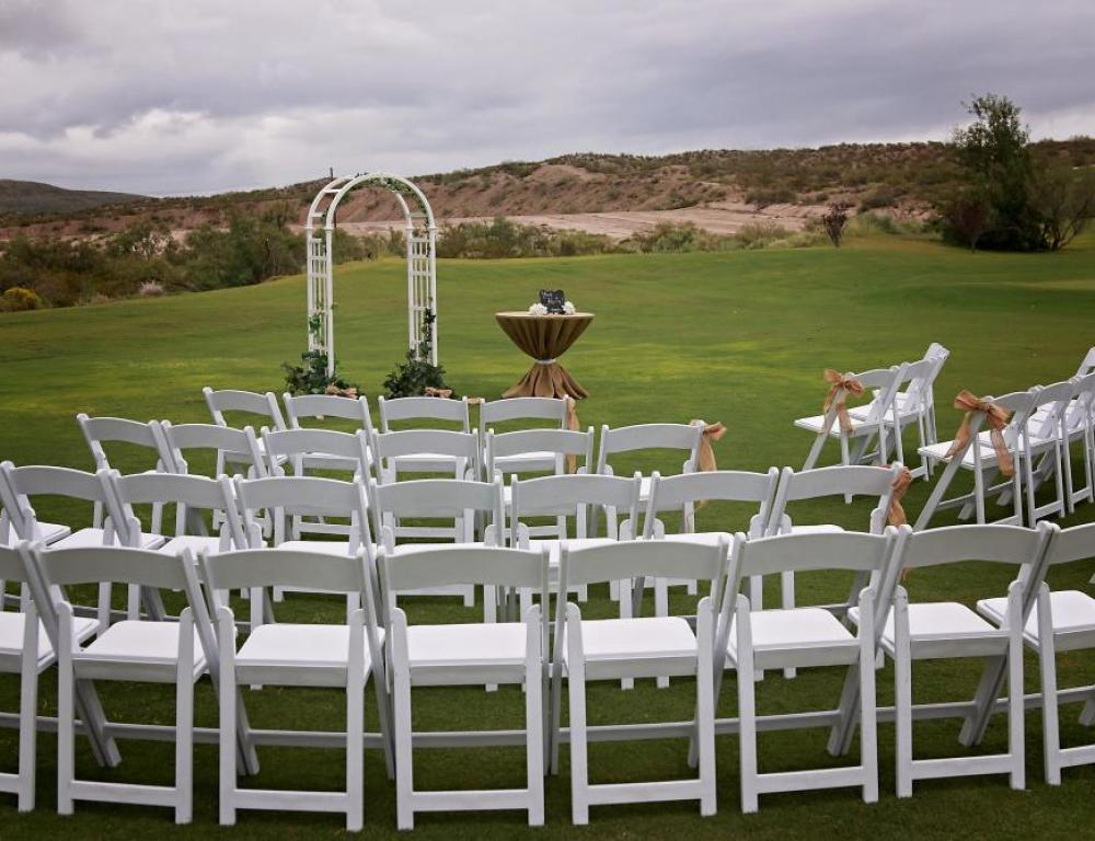 Golf Course: Wedding Ceremony on the Greens