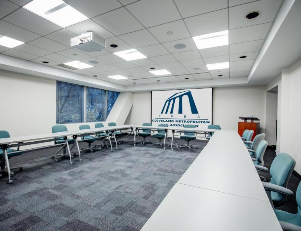 Rockwell holds up to 32 people and can be arranged in a variety of ways.