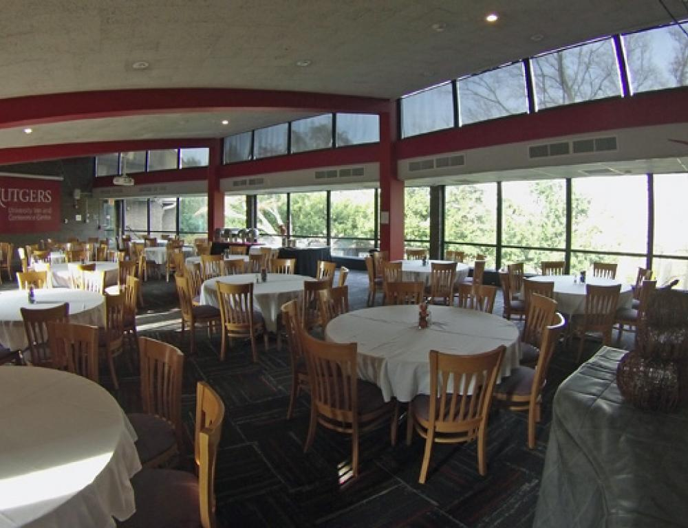 Rutgers University Inn Windowed Dining Room