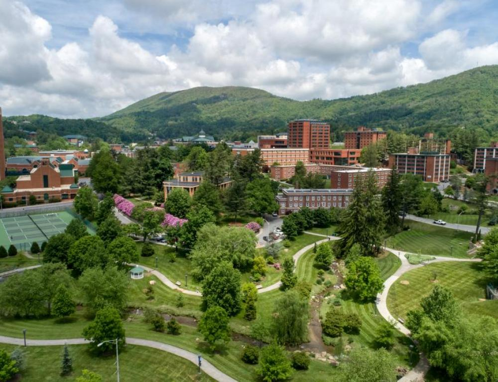 Our 410 acre campus has 19 academic buildings, 21 residence halls, and four dining facilities.