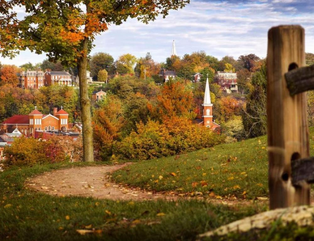 Autumn in Galena Country