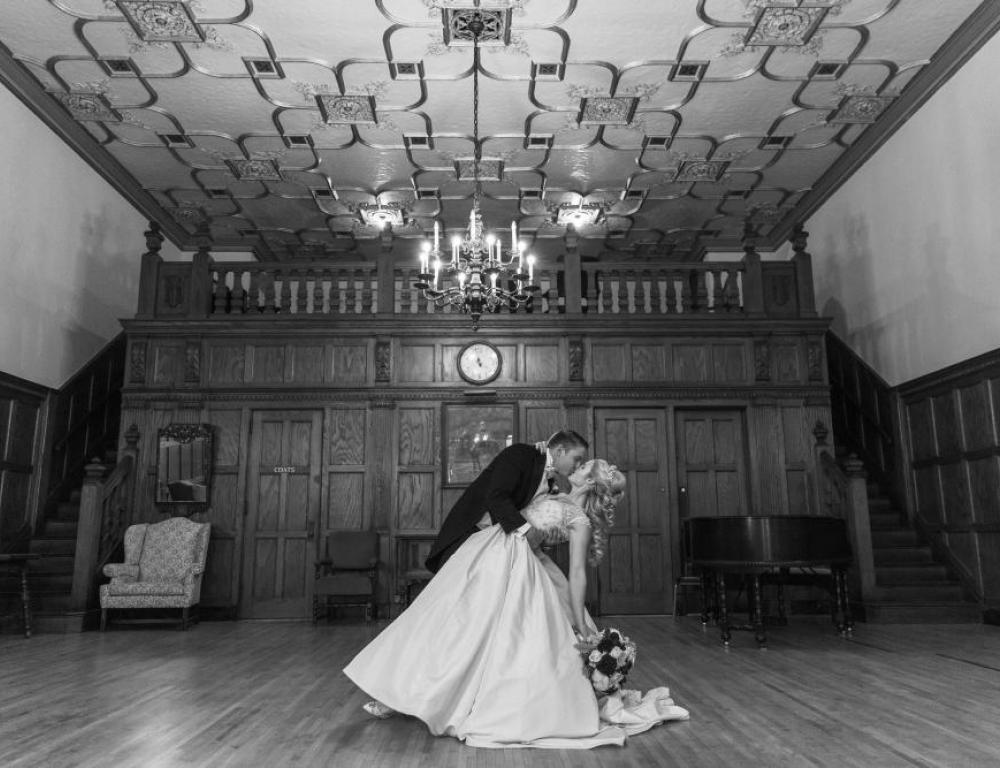 Commandery Parlor - Courtney Carolyn Photography