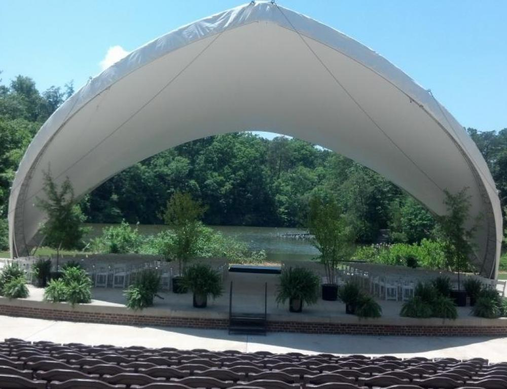 Briggs Amphitheatre at Lake Matoaka