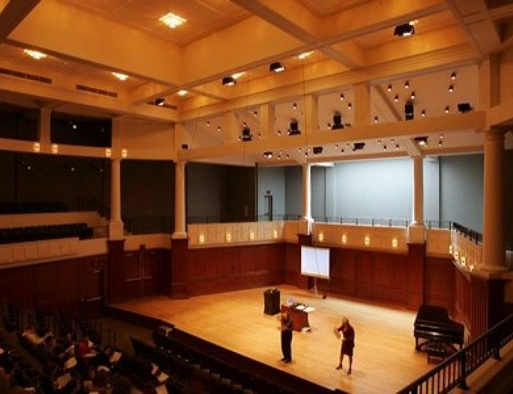 Music Building Mayo Concert Hall