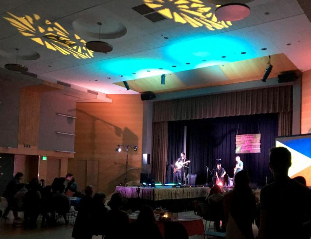 Smith Ballroom hosts everything from conferences to concerts.
