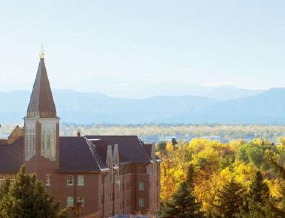 Mountain View of Campus