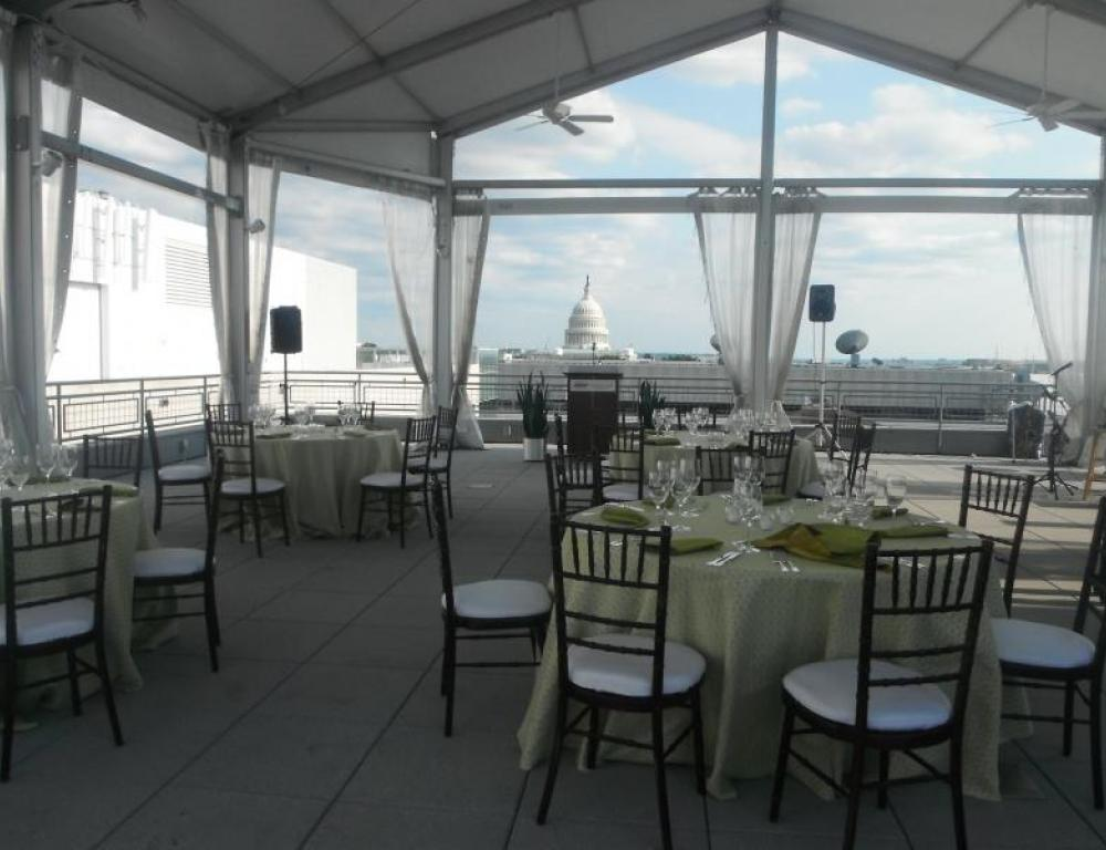 Luncheon on the South Terrace