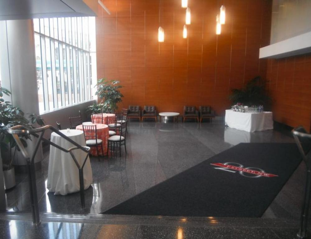 Party in the Lobby Area