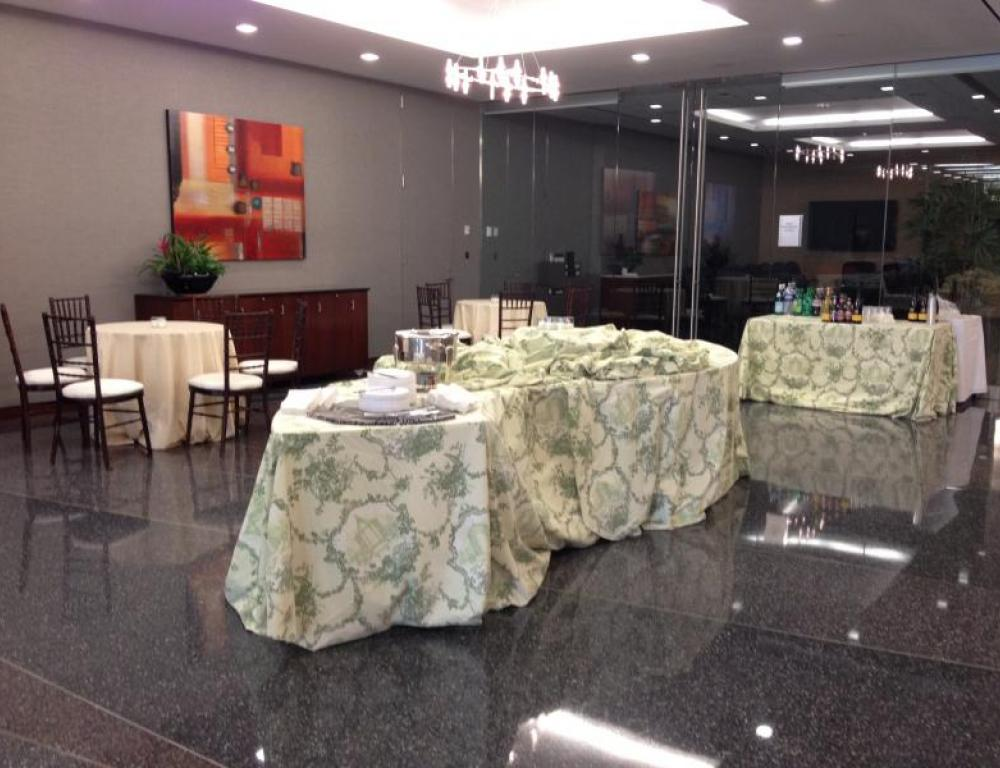 Reception in the Lounge