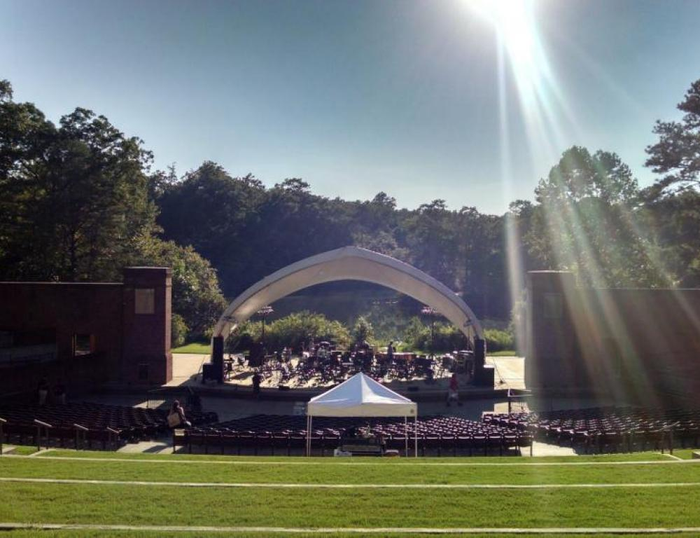 Briggs Amphitheatre at Lake Matoaka - Lawn View
