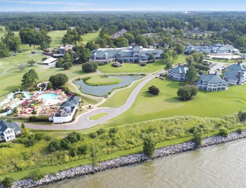 Kingsmill Resort aerial