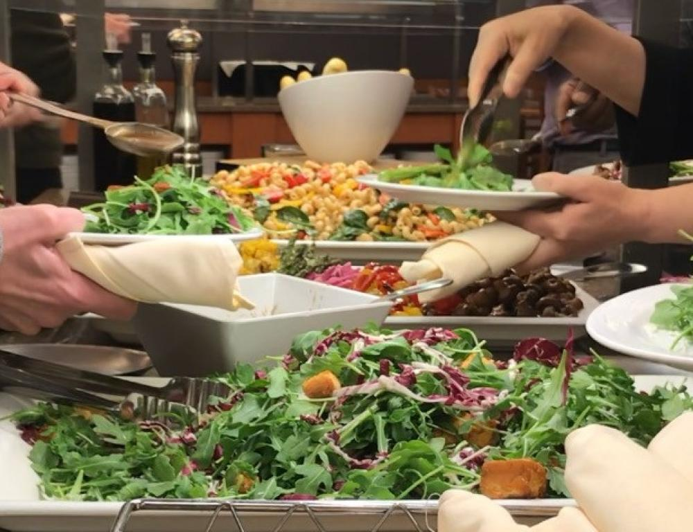 Breakfast, continuous snacks/refreshments, and healthy lunch are part of our all-inclusive meeting package
