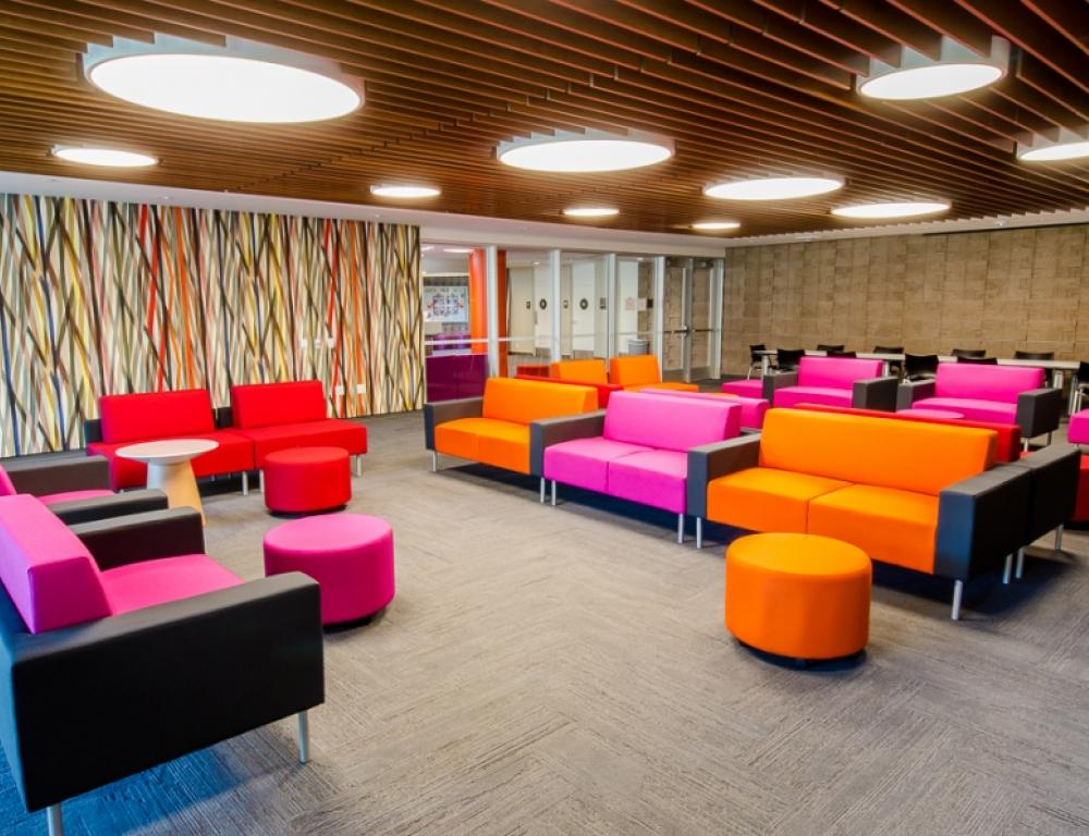 Residence Hall Main Lounge