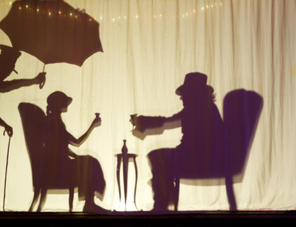 Our Silhouette Shadow Dancing Screen!!