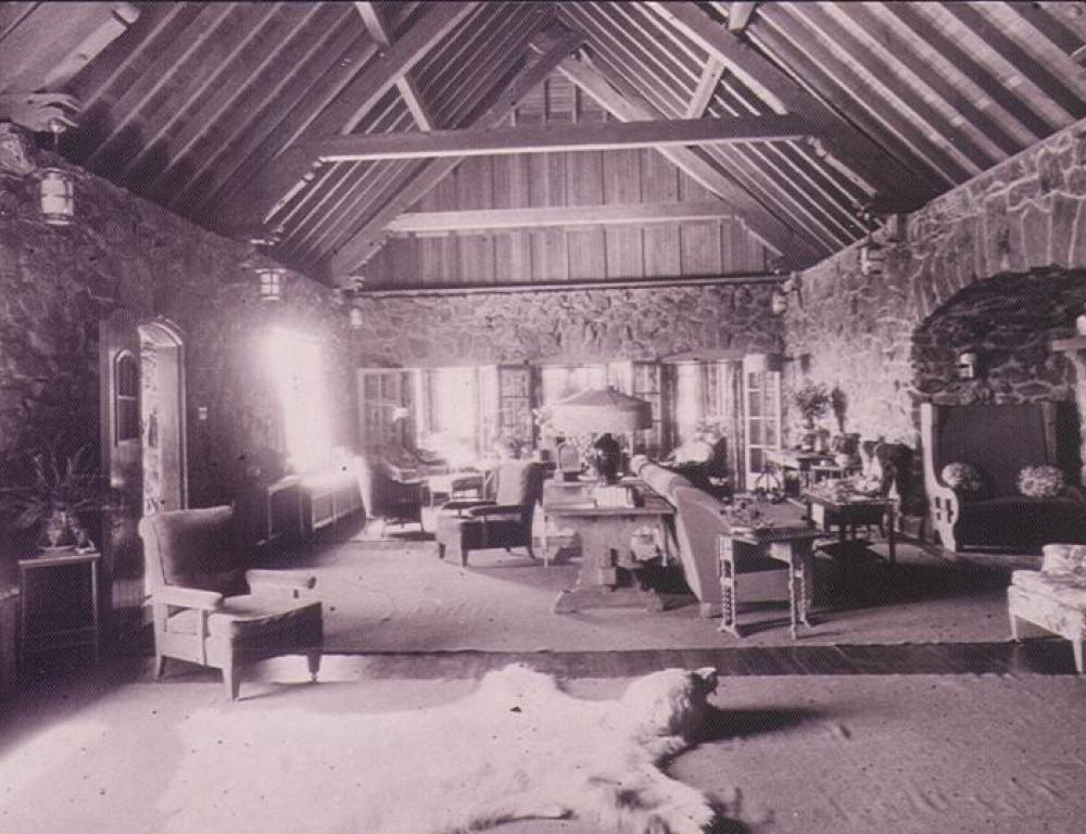 Living Room c. 1920 (now The Fireside Room)