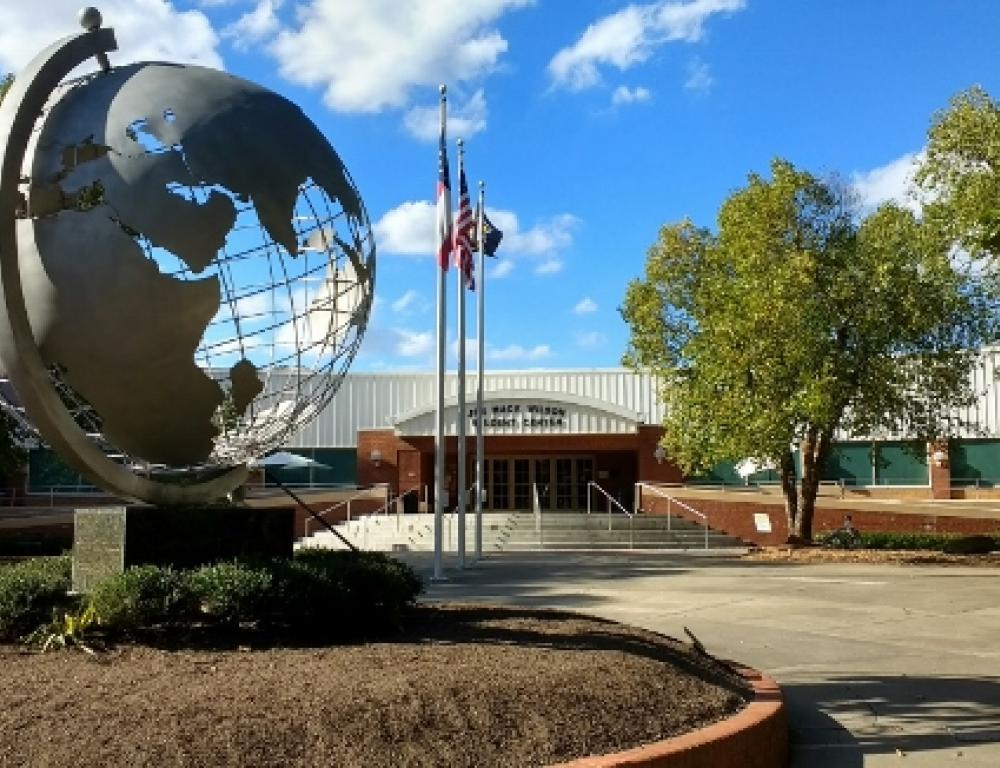 Student Center and Globe