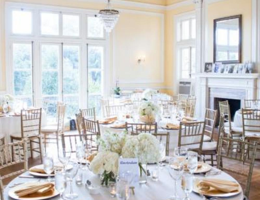 Our ballroom fits 150 for meetings, weddings, staff retreats, and presentations