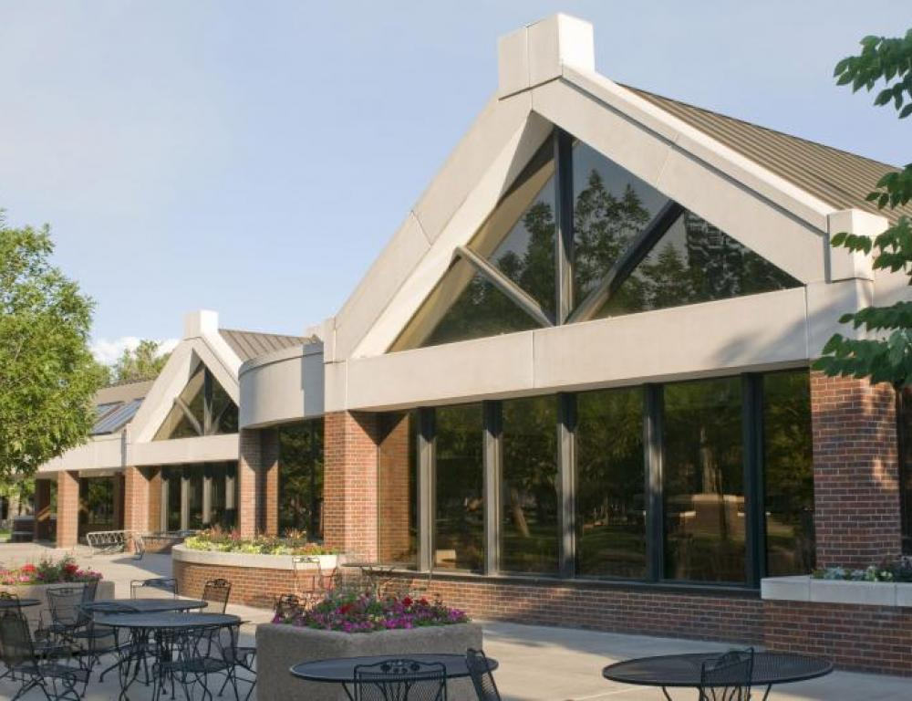 Worner Campus Center within walking distance of any meeting room